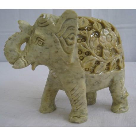 Mramorový slon 13cm