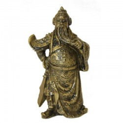 Feng sui - Soška Kwan Kung (sada 10kusů)