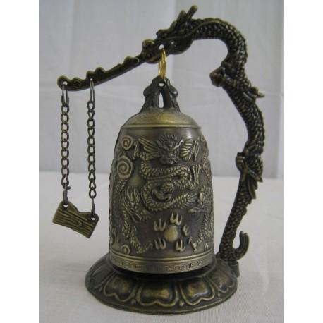 Zvonek s drakem 12cm