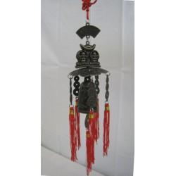 Čínská zvonkohra s Buddhy