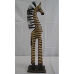 Zebra 60cm - přírodní