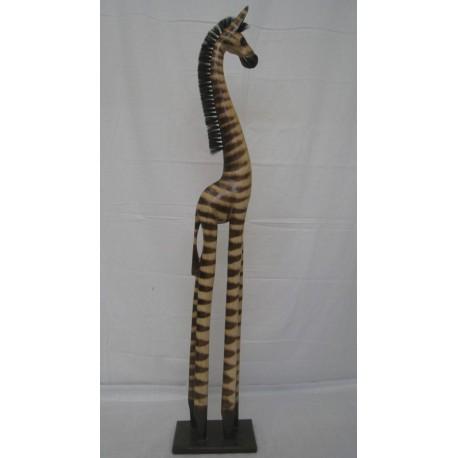 Zebra 100cm - přírodní