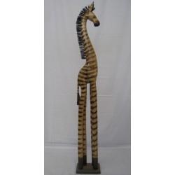 Zebra 120cm - přírodní