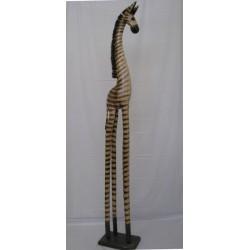Zebra 150cm - přírodní