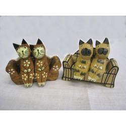 2 kočky na sedačce, šířka 10cm