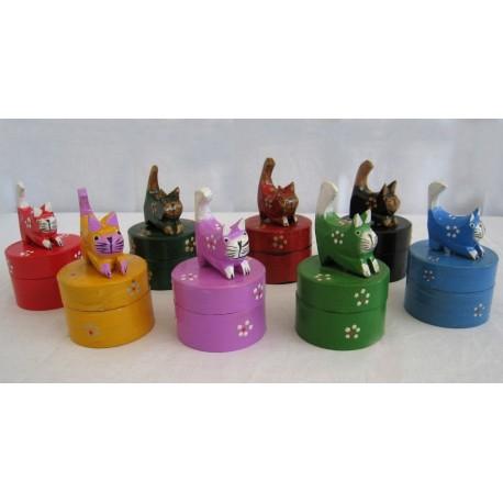 Šperkovnice s kočkou 12cm