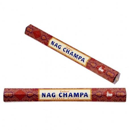 Vonné tyčinky - NAG CHAMPA hnědé (Sada 6 krabiček)