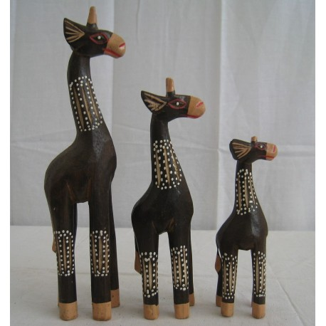 Žirafa 25cm B - sada 3ks