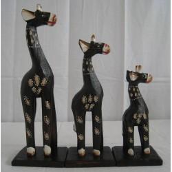 Žirafa 25cm- sada 3ks