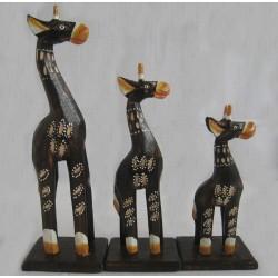 Žirafa 25cm D - sada 3ks