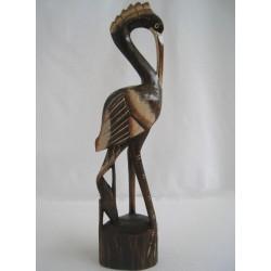 Dřevěný pták 40 cm - B