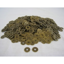 Čínské mince 1,2cm - 2000 kusů