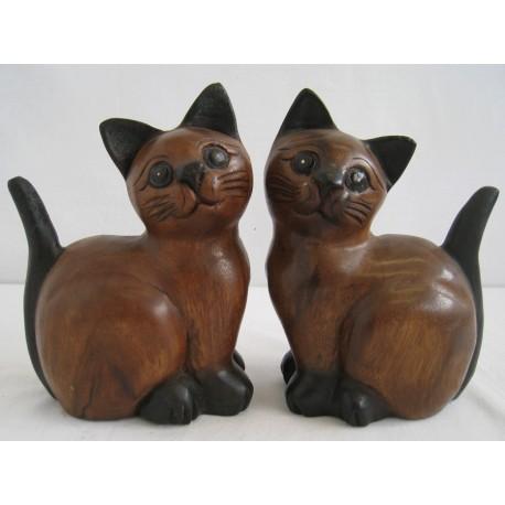 Kočka 20 cm - sedící z boku