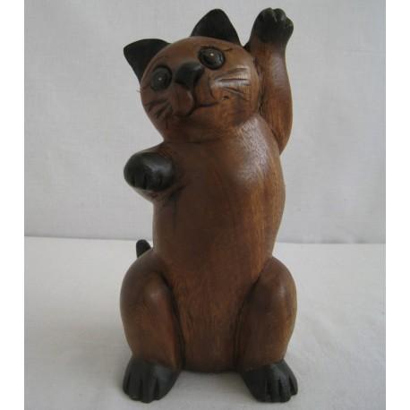 Kočka 20cm - zvednutá jedna tlapka