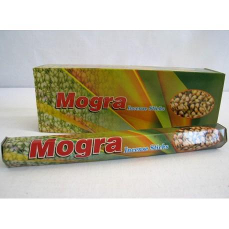 Vonné tyčinky - MOGRA  (Sada 6 krabiček)