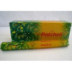 Vonné tyčinky - PATCHOLI  (Sada 6 krabiček)