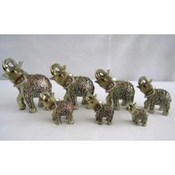 Sada 7 slonů - 12,5cm