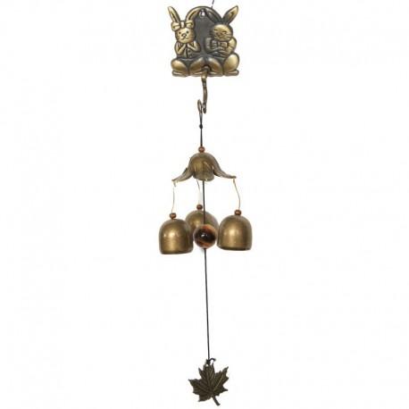 Zvonkohra velká se stojánkem - zajíci