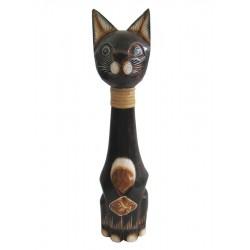 Kočka s obojkem 40cm