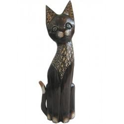 Kočka se zdobenou náprsenkou 40cm