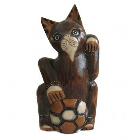Kočka s míčem 25cm
