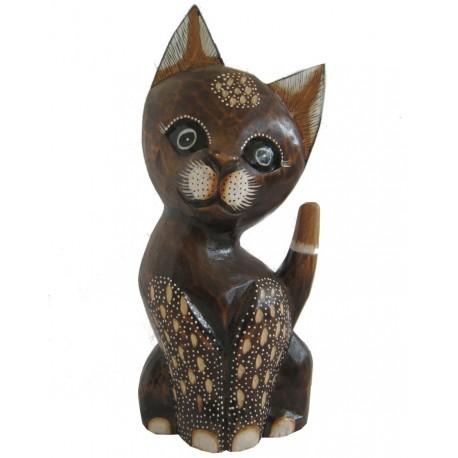 Kočka zdobená 35cm