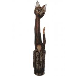 Kočka - puntíkovaná 100cm