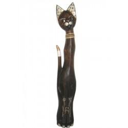 Kočka - provazový obojek 100cm