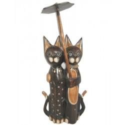 Kočka s deštníkem 50cm