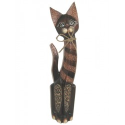 Kočka s mašlí 60cm