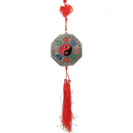 Ochranný čínský ověs zrcátko Bagua -velký (SADA 6ks)