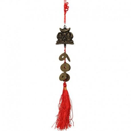 Ochranný čínský ověs 2x buddha-(SADA 6ks)