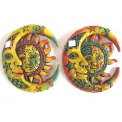 Magnetka slunce a měsíc