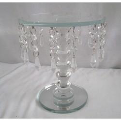 Křišťálový skleněný stůl 23cm