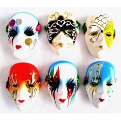Porcelánová maska 9cm