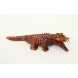 Dřevěný krokodýl - 30cm