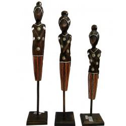 Dřevěný primitiv 50cm - dáma