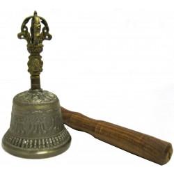 Tibetský mosazný zvonek  15cm