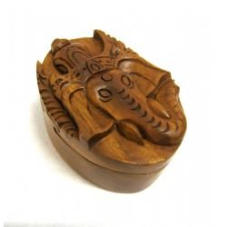 Magická dřevěná krabička - Ganesha