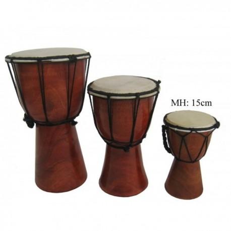 Buben Djembe, Bongo 15cm - hladký