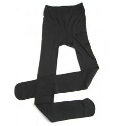 Černé zateplené punčocháče