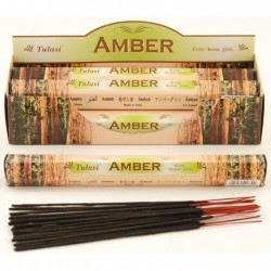 Vonné tyčinky - AMBER (Sada 6 krabiček)
