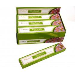 Vonné tyčinky - PATCHOULI masala  (Sada 12 krabiček)