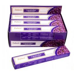 Vonné tyčinky -LEVANDULE masala (Sada 12 krabiček)