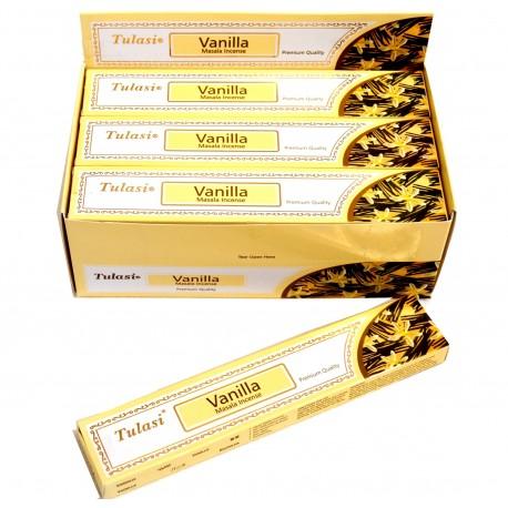 Vonné tyčinky -VANILLA  masala  (Sada 12 krabiček)