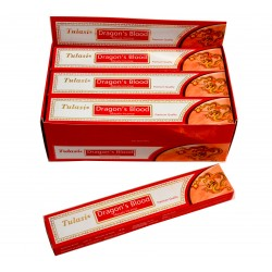 Vonné tyčinky -DRAGON BLOOD  masala  (Sada 12 krabiček)