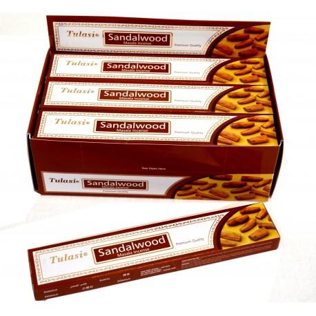Vonné tyčinky -SANDALWOOD masala  (Sada 12 krabiček)