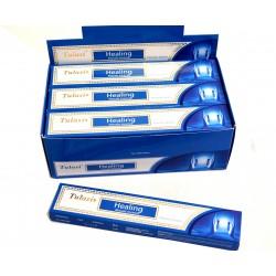 Vonné tyčinky -HEALING masala  (Sada 12 krabiček)