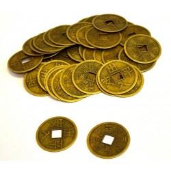 Čínské mince 6cm - 100 kusů