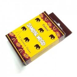 Vonné františky Tulasi SANDAL WOOD(Sada 12 krabiček)